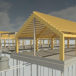 Engine Shed 3D View